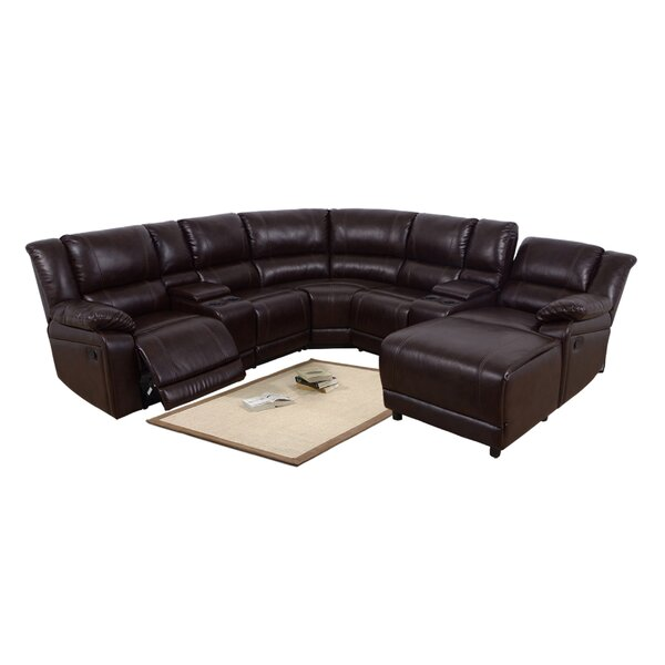 Rene 103-inch Right Hand Facing Reclining Sectional By Red Barrel Studio
