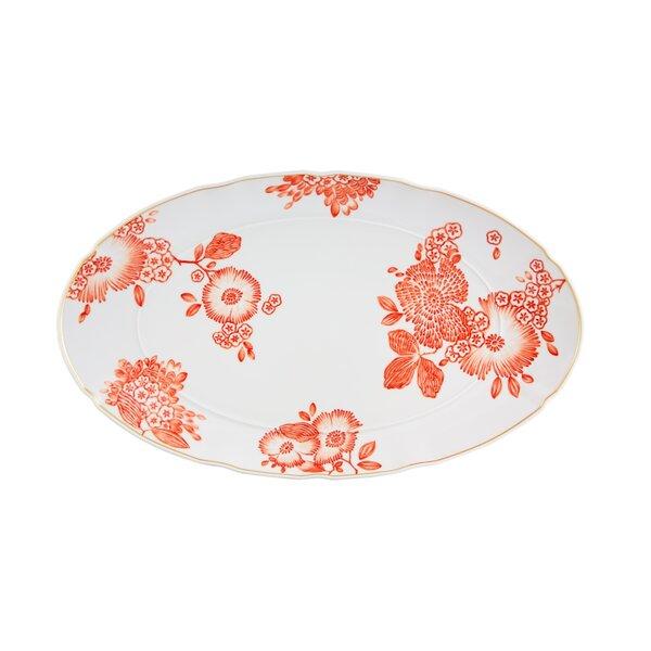 Coralina Oval Platter by Vista Alegre
