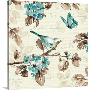 Wing Prints III Graphic Art on Wrapped Canvas by Great Big Canvas