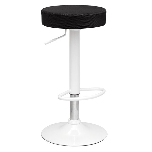 Angle Adjustable Height Swivel Bar Stool by Fine Mod Imports