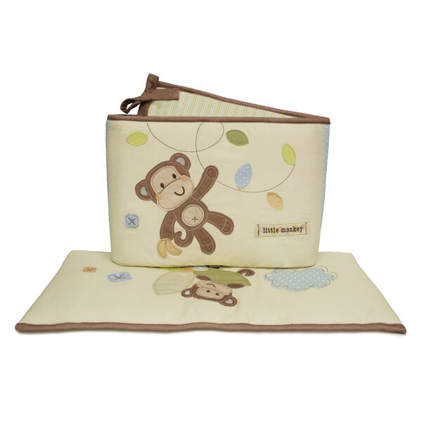 Go Bananas Bumper by Little Haven