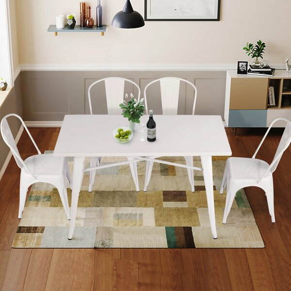 Ubalda 5 Piece Dining Set by Wrought Studio