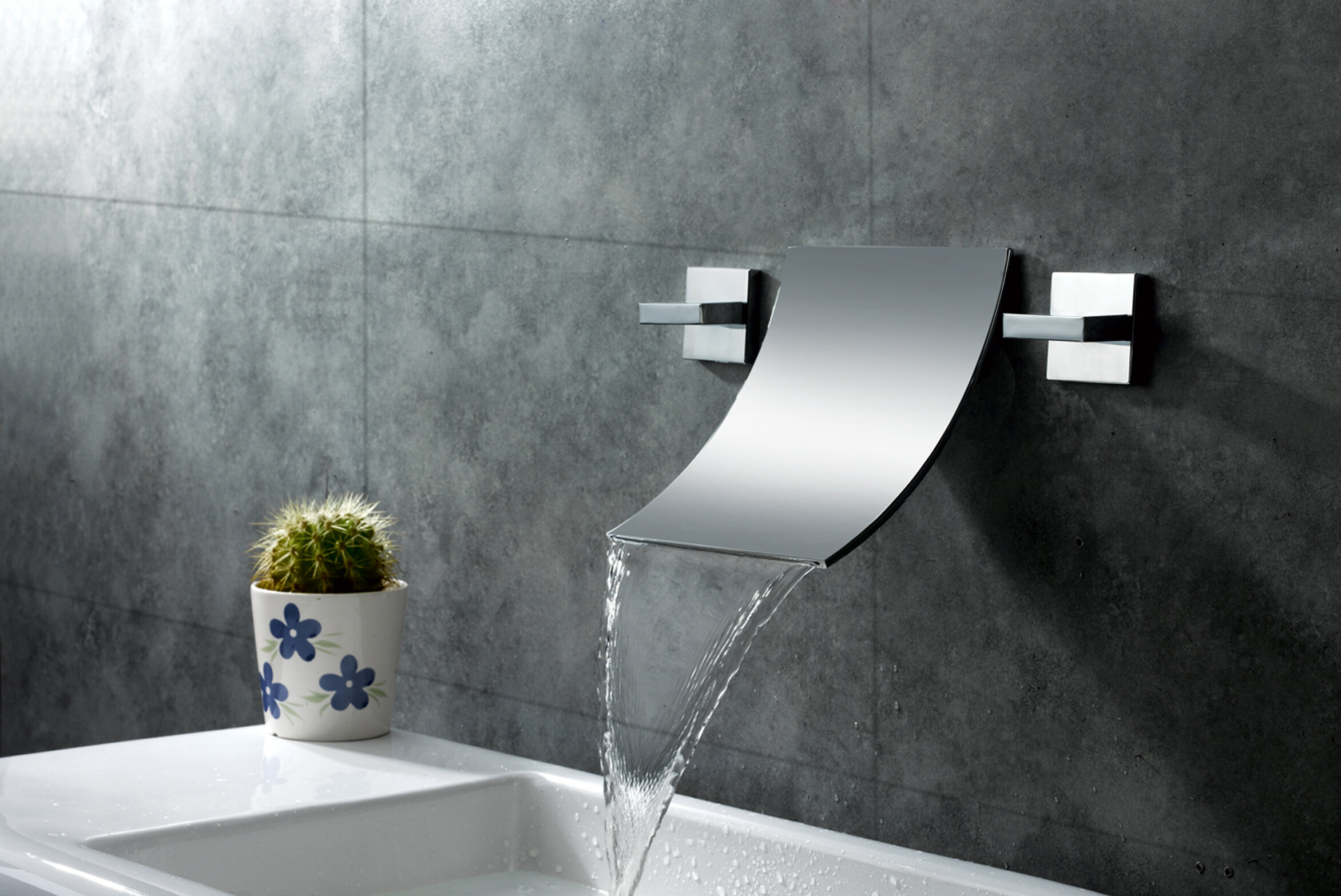 Sumerain Wall Mount Waterfall Bathroom
