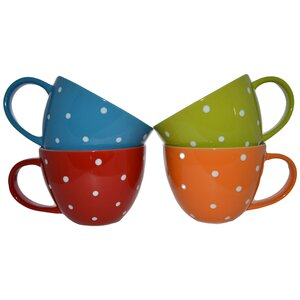 Jumbo Coffee Mug (Set of 4)