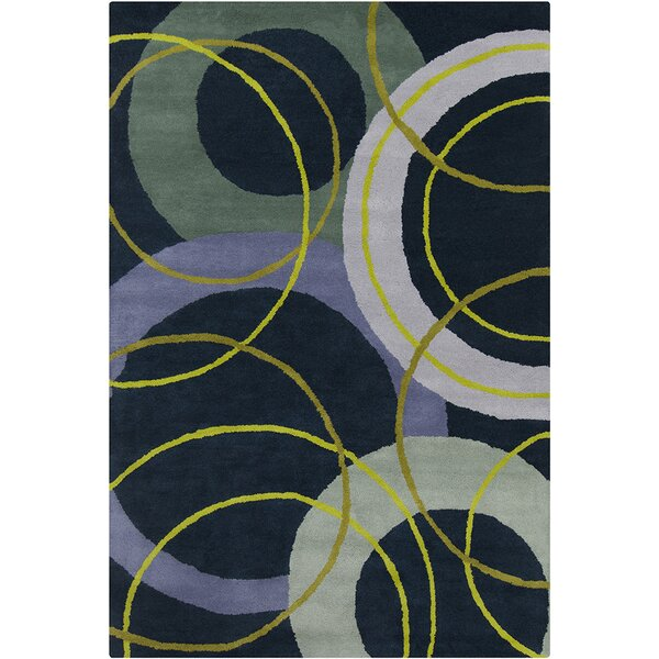 Oritz Hand Tufted Wool Area Rug by Brayden Studio