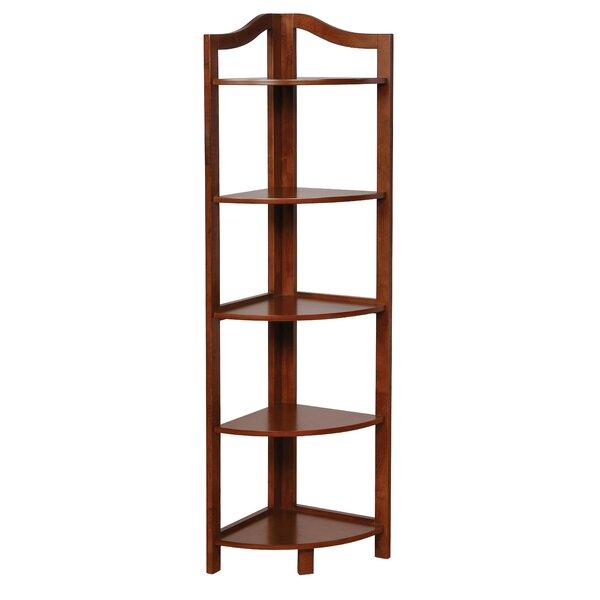 Carlotta Corner Unit Bookcase by Charlton Home