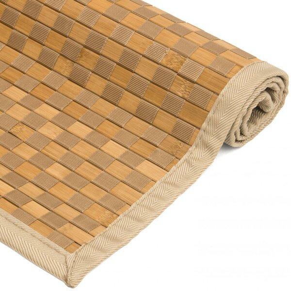 Davita Checkerboard Handmade Natural Area Rug by Highland Dunes