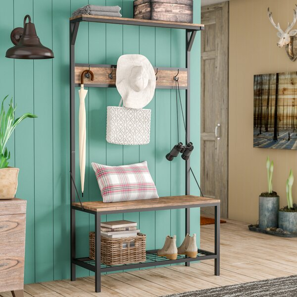 Traci Hall Tree by Union Rustic