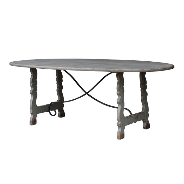 Navarre Solid Wood Dining Table by White x White