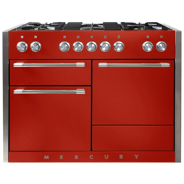 Mercury 48 6 cu ft. Freestanding Dual Fuel Range