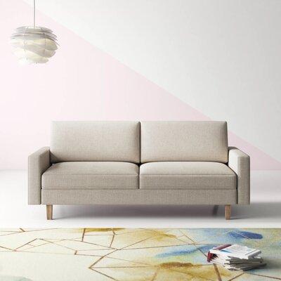 Sofa With Wood Trim Wayfair