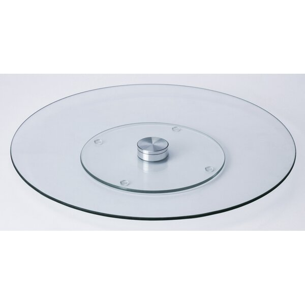 Soderquist Tempered Glass Lazy Susan by Latitude Run