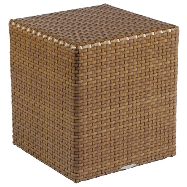 Sedona Wicker Side Table by Woodard