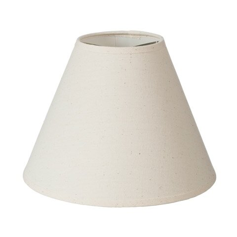9 Muslin Empire Lamp Shade by Highland Dunes
