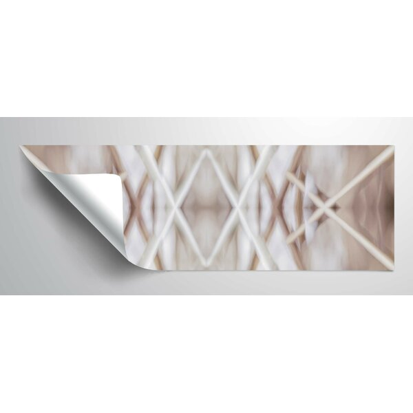 Geometric Symmetry V Wall Decal by World Menagerie