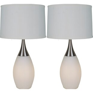 Best Reviews Zariah 28 Table Lamp (Set of 2) By Corrigan Studio