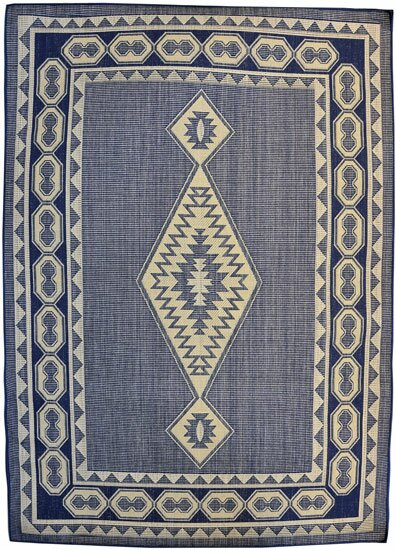 Navy Area Rug by Rug Tycoon