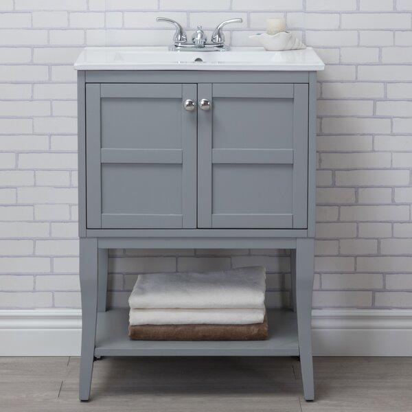 Wynkoop 24 Single Bathroom Vanity Set by Lark Manor