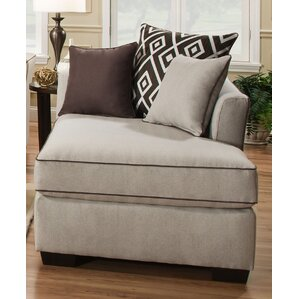 Heath Chaise Lounge by Simmons Upholstery  sc 1 st  Birch Lane : chenille chaise lounge - Sectionals, Sofas & Couches