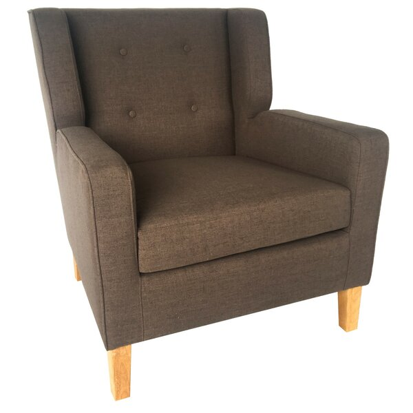 Léa Upholstered Armchair by Ivy Bronx