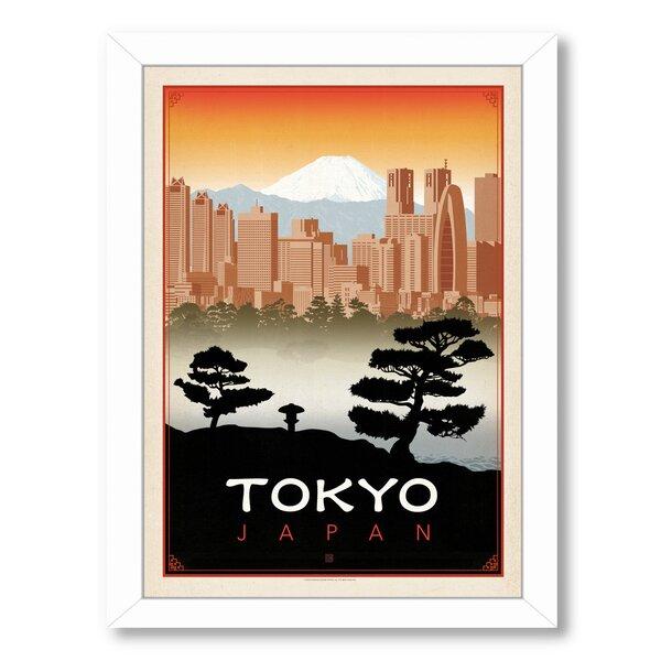 Tokyo Framed Vintage Advertisement by East Urban Home
