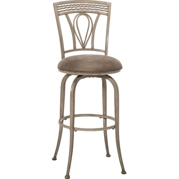 Anton 30 Swivel Bar Stool by Fleur De Lis Living