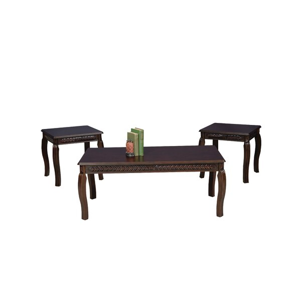 Zappa Coffee Table Set by World Menagerie World Menagerie