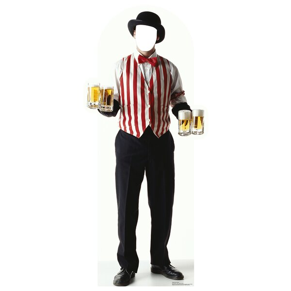 Carnival Bartender Cardboard Cutout Stand-In by Advanced Graphics