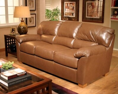 Cedar Heights Sleeper Sofa by Omnia Leather