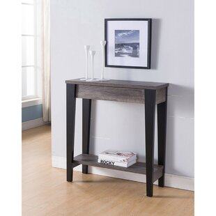 Mayfield Wooden Console Table by Ebern Designs