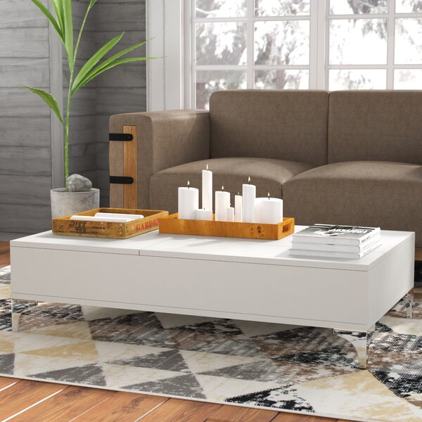 Ivy Lift Top Coffee Table With Storage By Union Rustic