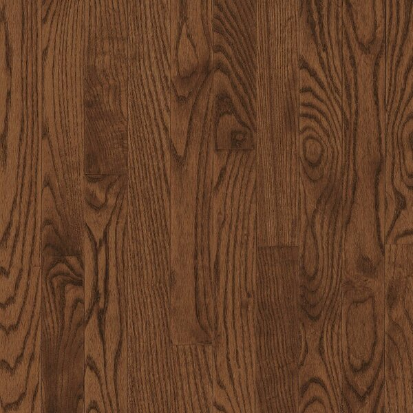 Dundee 2-1/4 Solid Red / White Oak Hardwood Flooring in Saddle by Bruce Flooring