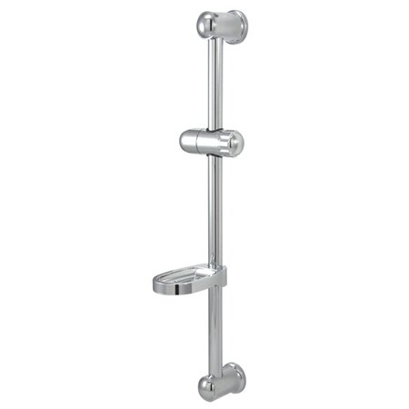 Vilbosch 24 Slide Bar with Acrylic Soap Dish and Hand Shower Holder by Kingston Brass
