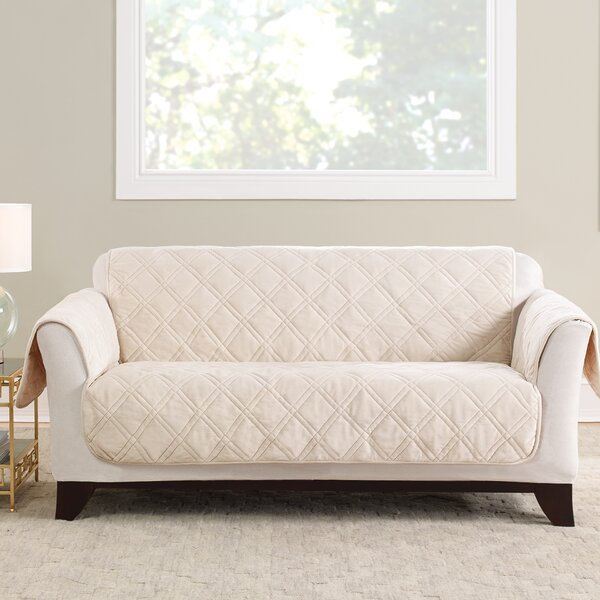 Triple Protection FC Box Cushion Loveseat Slipcover by Sure Fit
