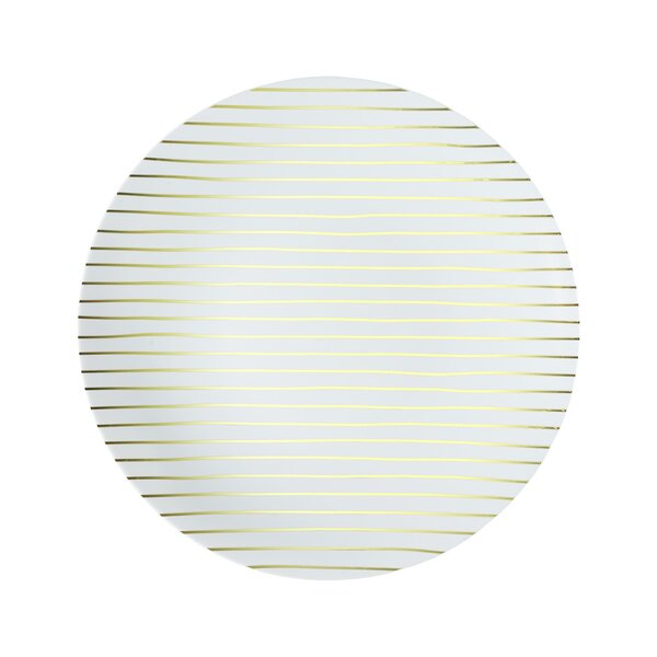 L'entramise Plastic Disposable Salad or Dessert Plate (Set of 20) by L'entramise