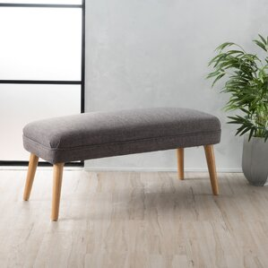 Raleigh Upholstered Bench by Langley Street