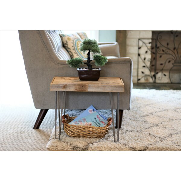 Phyllida End Table by Union Rustic