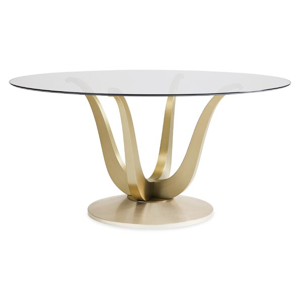 Rounding up Dining Table by Caracole Classic Caracole Classic