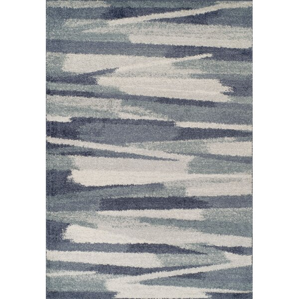 Samuel Shag Navy Area Rug by Williston Forge