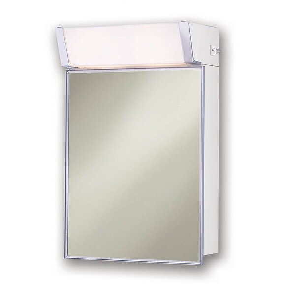 Speciality 16 x 24 Surface Mount Medicine Cabinet with Lighting by Jensen