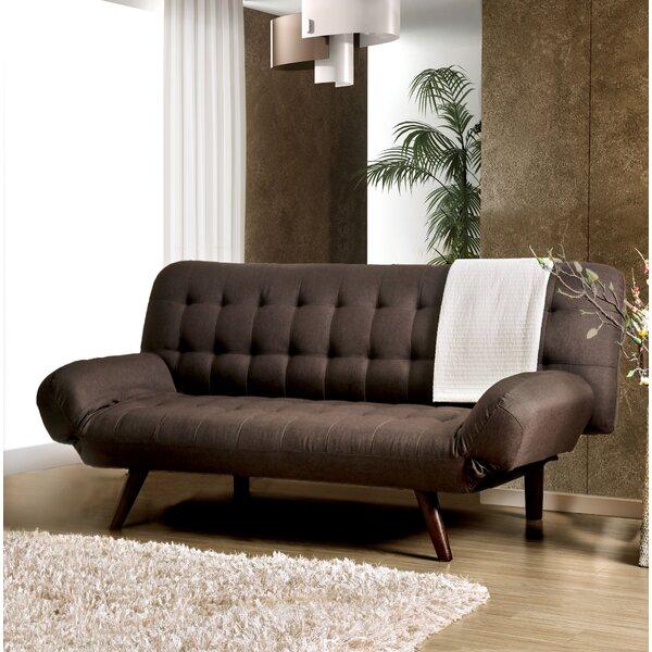 Wiltz Mid-Century Modern Convertible Sofa by Latitude Run