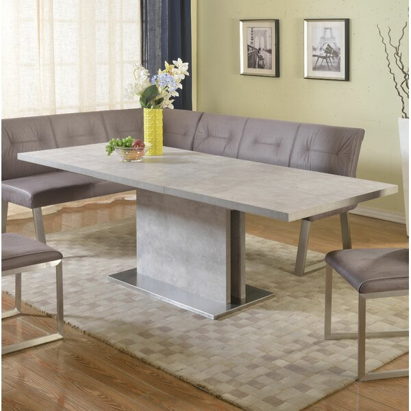 Isabell Extendable Dining Table by Orren Ellis