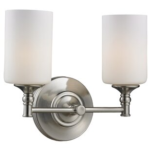 Great Price Eichhorn 2-Light Vanity Light By Charlton Home