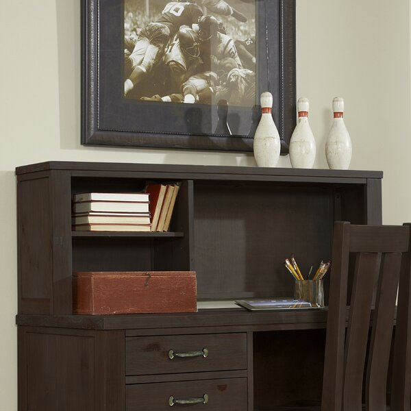 Timberville Hutch Writing Desk with Hutch by Greyleigh