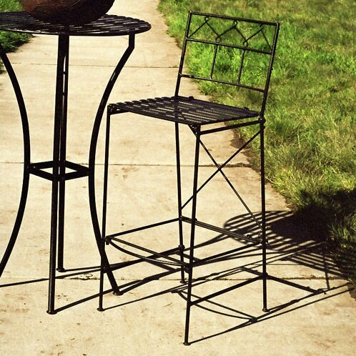 Marc-Antoine 29 Patio Bar Stool by 17 Stories