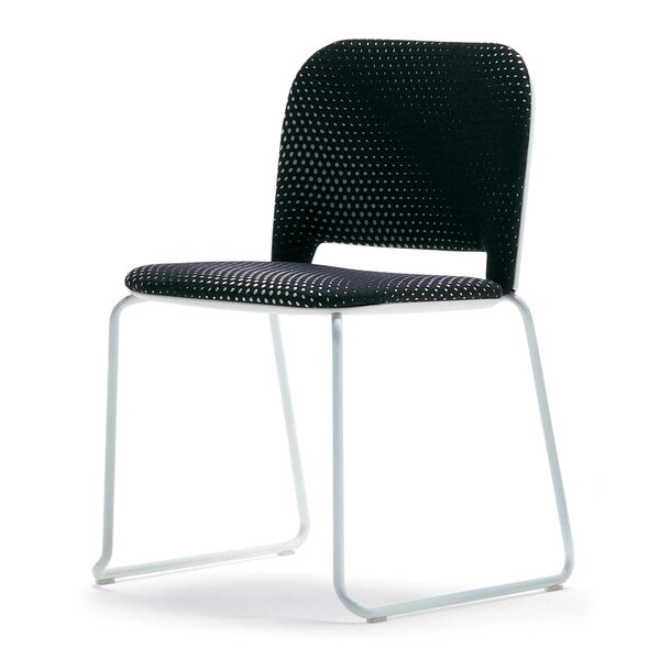Lips Armless Ganging Device Stacking Chair by Segis U.S.A