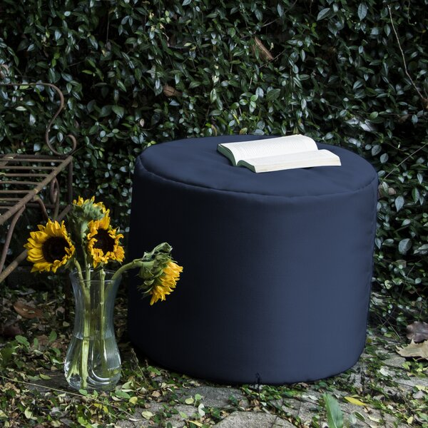 Ayala Outdoor Pouf Ottoman by Zipcode Design