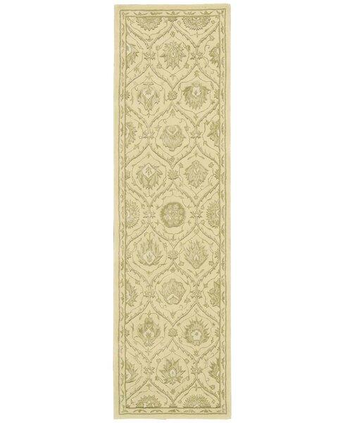 Fraserburgh Hand-Tufted Wool/Silk Gravel Area Rug