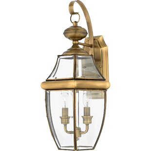 Antique brass outdoor wall lighting youll love save to idea board workwithnaturefo