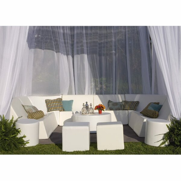 Instant Cabana 8 Piece Seating Group by La-Fete